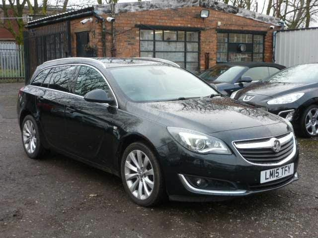 2015 Vauxhall Insignia Sports Tourer 2.0CDTi Elite (163ps) (NAV) Auto (15 reg)