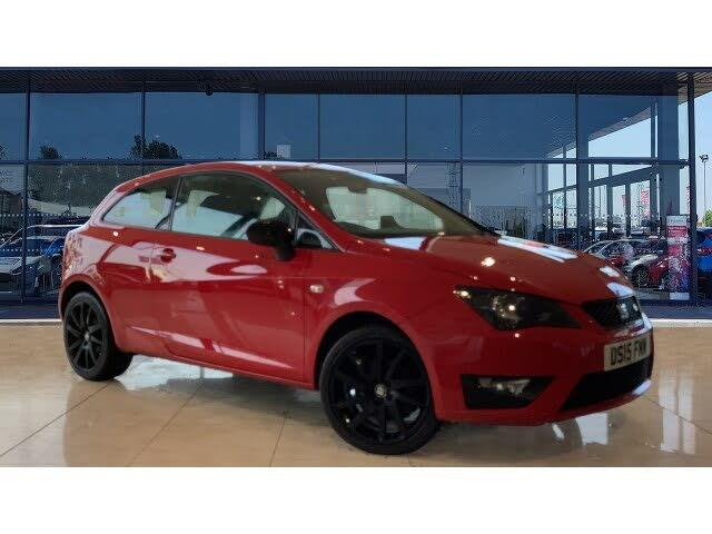 2015 Seat Ibiza 1.4TSI FR Black SportCoupe 3d (15 reg)