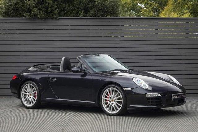 2011 Porsche 911 3.8 Carrera S Cabriolet PDK (AE reg)