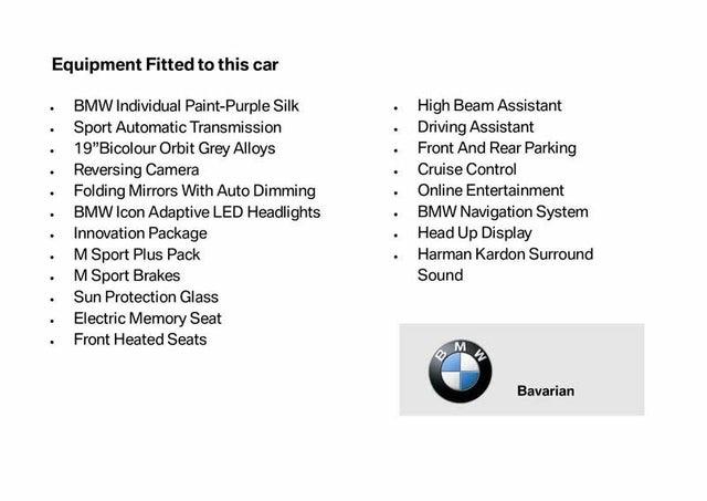 2018 BMW 4 Series 3.0 440i M Sport Coupe 2d Auto (18 reg)