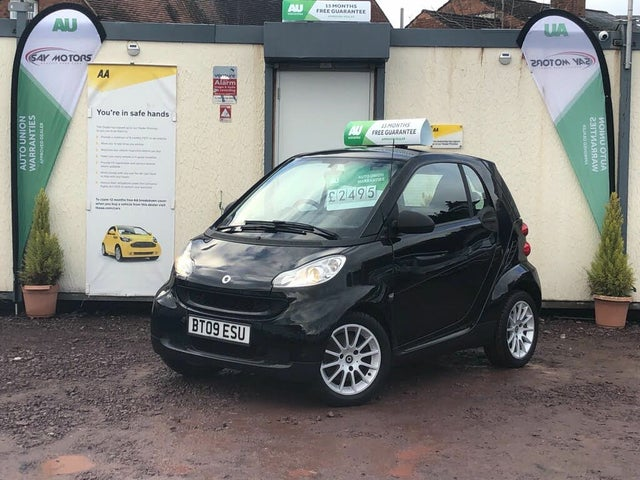2009 Smart fortwo 0.8TD Passion (45bhp) Coupe (09 reg)