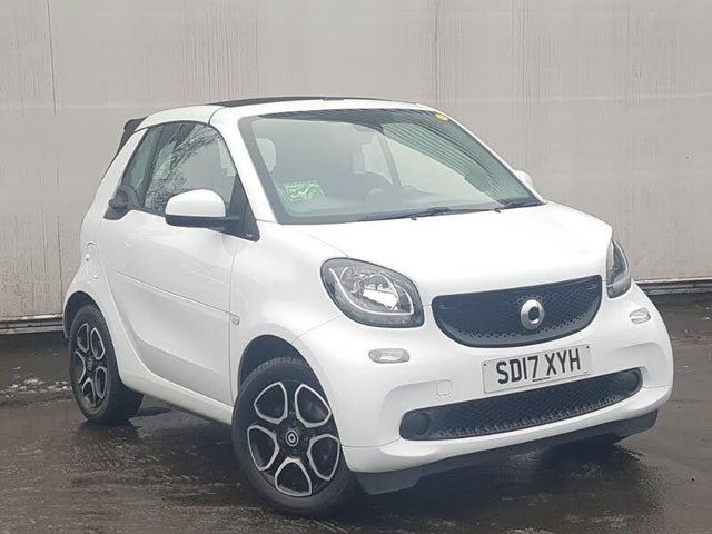 2017 Smart fortwo 0.9 Prime (90bhp) (s/s) Cabriolet Twinamic (17 reg)