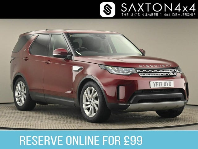 2017 Land Rover Discovery 2.0SD4 HSE (240ps) 4X4 Station Wagon 5d Auto (17 reg)