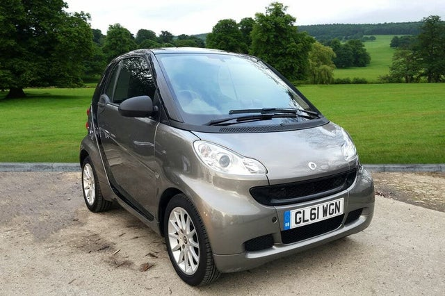 2012 Smart fortwo 0.8TD Passion 0.8cdi Coupe Softouch (61 reg)