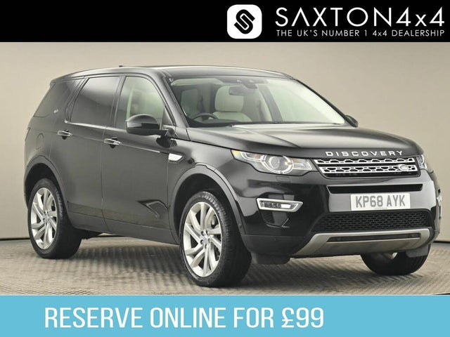 2018 Land Rover Discovery 2.0SD4 HSE Luxury AWD (68 reg)