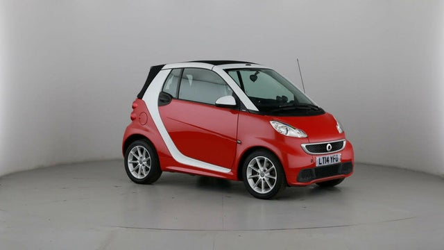 2014 Smart fortwo 1.0 Passion (71bhp) Cabriolet (14 reg)