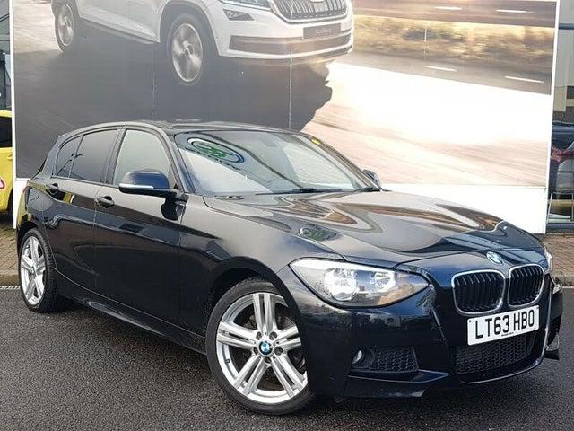 2013 BMW 1 Series 2.0TD 116d M Sport (s/s) Sports Hatch 5d (63 reg)