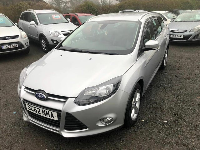 2013 Ford Focus 1.6TDCi Zetec (105ps) ECOnetic Estate (62 reg)