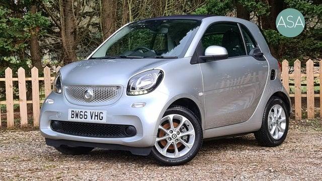 2016 Smart fortwo 1.0 Passion (71bhp) (Premium)(s/s) Coupe Twinamic (66 reg)
