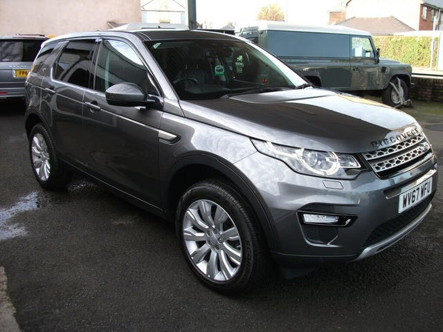 2017 Land Rover Discovery Sport 2.0Td4 HSE (180ps) SUV Auto (67 reg)
