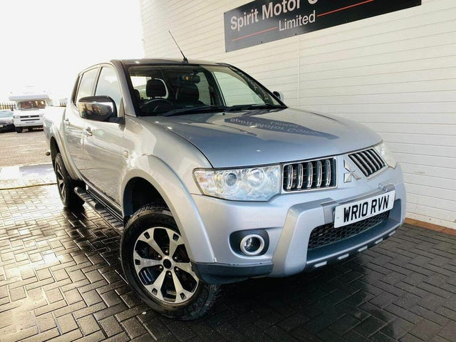 2010 Mitsubishi L200 2.5TD Warrior CR LB Double Pickup (10 reg)