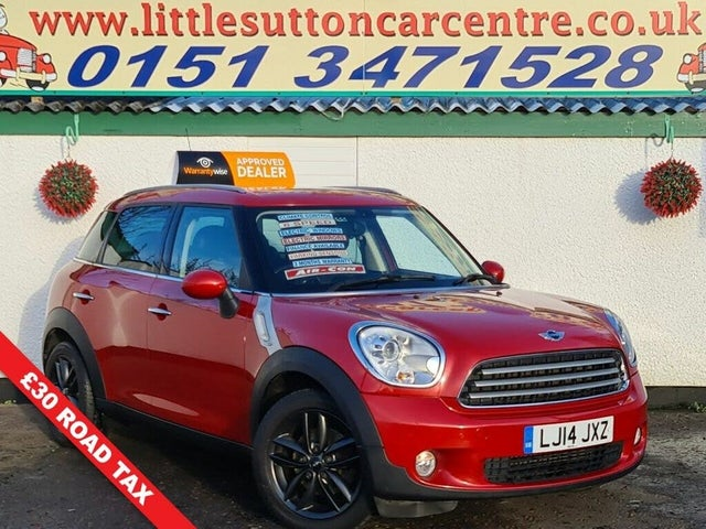 2014 MINI Countryman 1.6TD Cooper D Business Edition (Chili) (14 reg)