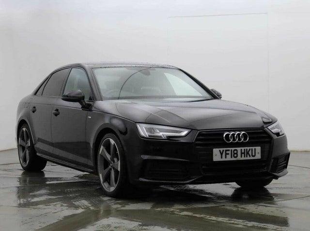 2018 Audi A4 1.4 TFSI Black Edition (18 reg)