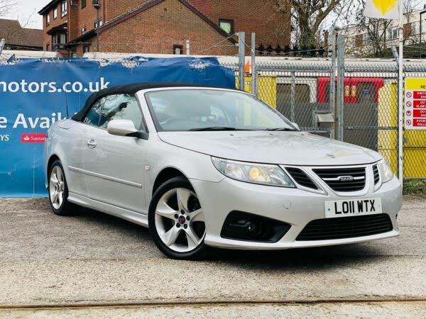 2011 Saab 9-3 1.9TD SE (160ps) Convertible 2d auto (11 reg)