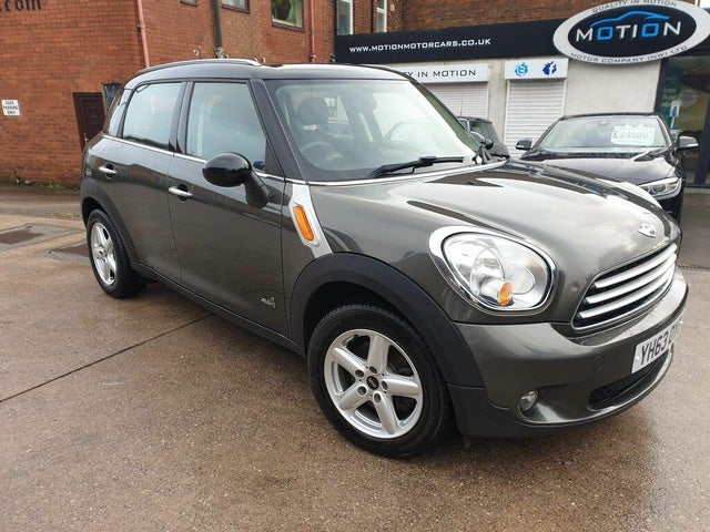 2013 MINI Countryman 2.0TD Cooper D ALL4 (Pepper) (63 reg)