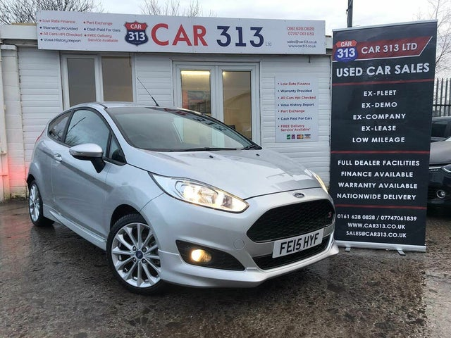 2015 Ford Fiesta 1.0 Zetec S (125ps) (15 reg)