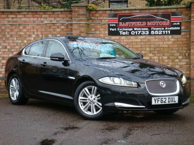 2012 Jaguar XF 3.0TD Luxury (240ps) (s/s) Saloon 4d Auto (62 reg)