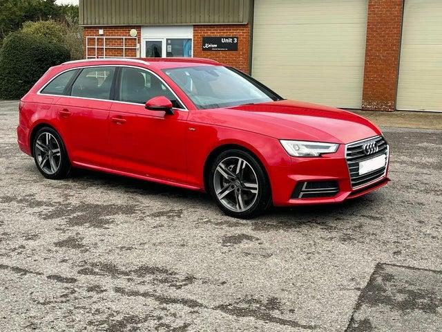 2017 Audi A4 Avant 3.0TDI V6 quattro S Line (272ps) Tiptronic (17 reg)