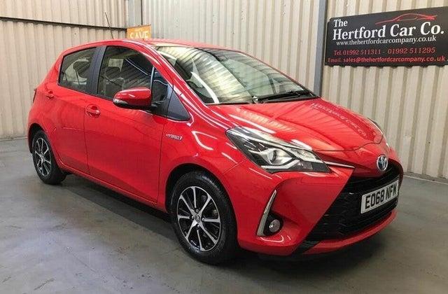 2018 Toyota Yaris 1.5 VVT-i Icon Tech Hybrid (68 reg)