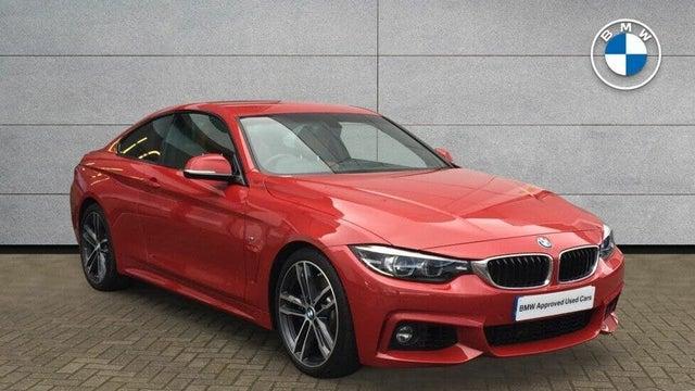 2018 BMW 4 Series 3.0 440i M Sport (322bhp) Coupe 2d Auto (68 reg)
