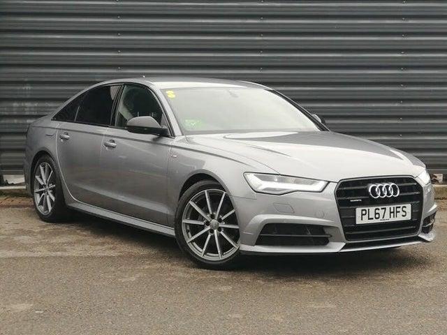 2018 Audi A6 Saloon 2.0TDI quattro Black Edition (67 reg)