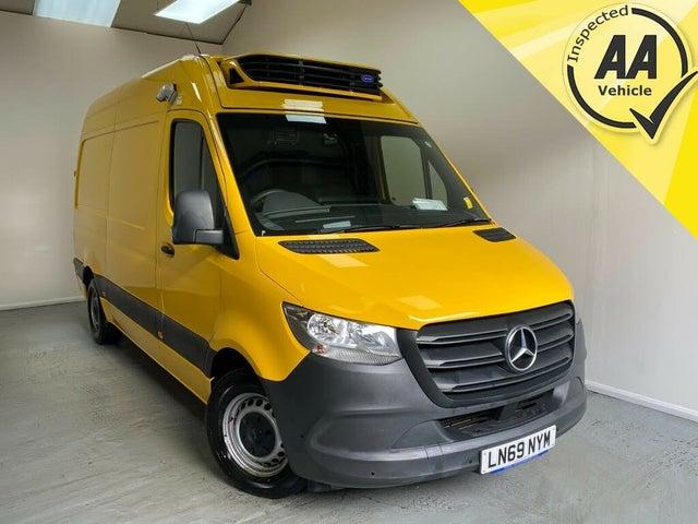 2019 Mercedes-Benz Sprinter 2.1CDI 316 L2H1 (163PS)(EU6) Crew Van RWD ECO Gear 360 (69 reg)