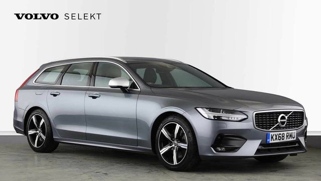2018 Volvo V90 2.0TD T4 R-Design (68 reg)