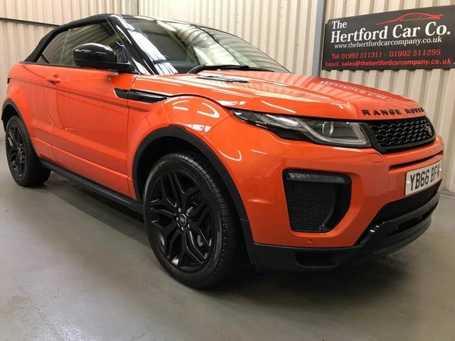 2016 Land Rover Range Rover Evoque 2.0Td4 HSE Dynamic LUX (s/s) Convertible 2d Auto (66 reg)