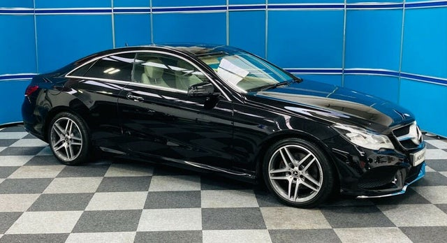 2014 Mercedes-Benz E-Class 2.1TD E250 AMG Line 2.1CDI (204bhp) Coupe 2d (BV reg)