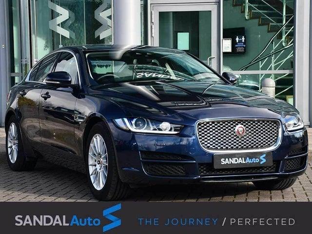2017 Jaguar XE 2.0d Portfolio (240ps) AWD (s/s) 1998cc Auto (17 reg)