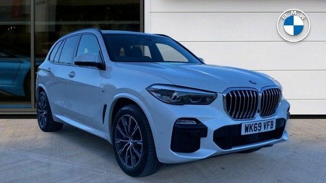 2019 BMW X5 3.0TD xDrive 30d M Sport (7 Seats) Auto (69 reg)