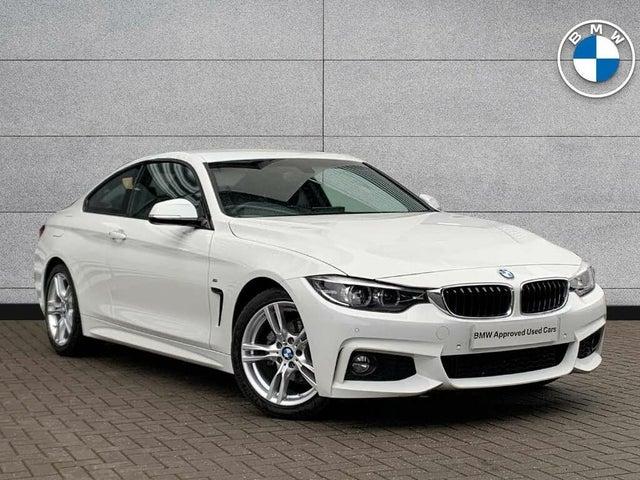 2020 BMW 4 Series 2.0 420i M Sport Coupe 2d Auto (69 reg)
