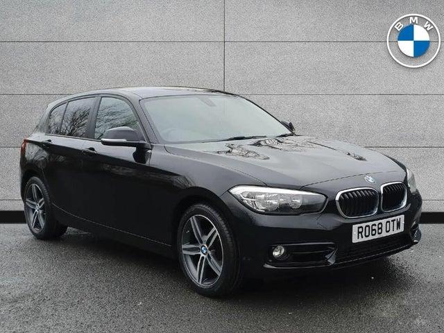2018 BMW 1 Series 1.5 118i Sport 5d Auto (68 reg)