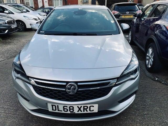 2018 Vauxhall Astra 1.0i Turbo SRi Nav (s/s)(ecoTEC) (68 reg)