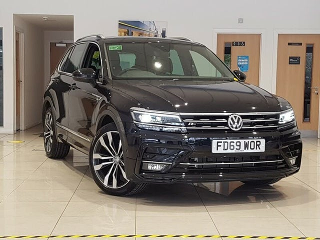 Used 2021 Volkswagen Tiguan for sale in Kirkcaldy (with ...