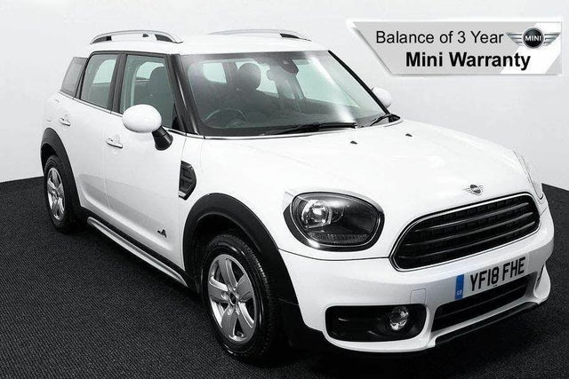 2018 MINI Countryman 2.0TD Cooper D (s/s) ALL4 (18 reg)