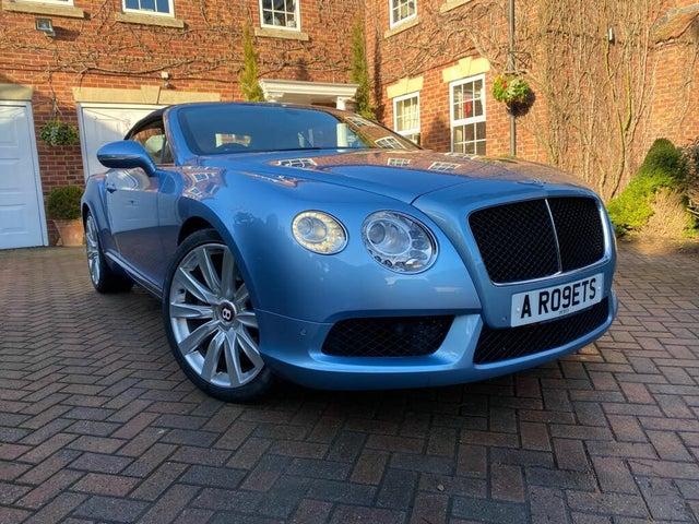 2012 Bentley Continental 4.0 GTC V8 (12 reg)