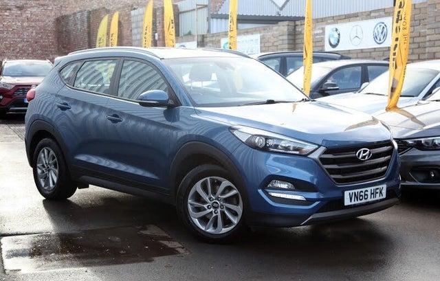 2016 Hyundai Tucson 1.7CRDi Blue Drive SE Nav (141ps) DCT (MF reg)