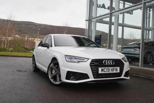 2019 Audi A4 2.0 45 TFSI Black Edition (19 reg)