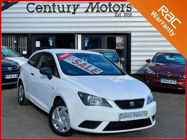 2013 Seat Ibiza 1.2TD (75ps) CR SportCoupe (a/c) Hatchback 3d (63 reg)