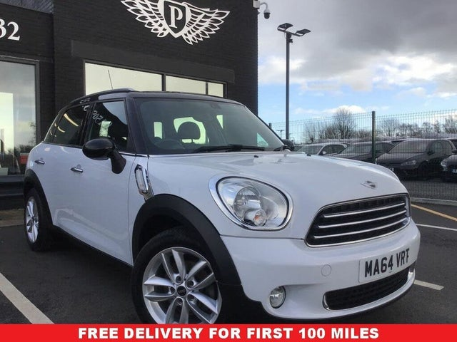 2014 MINI Countryman 1.6TD Cooper D Business Edition (Chili) (64 reg)