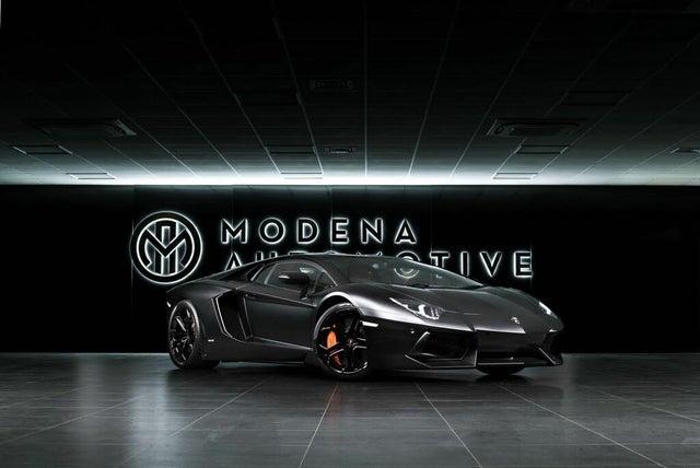 2011 Lamborghini Aventador V12 LP700-4 (WE reg)