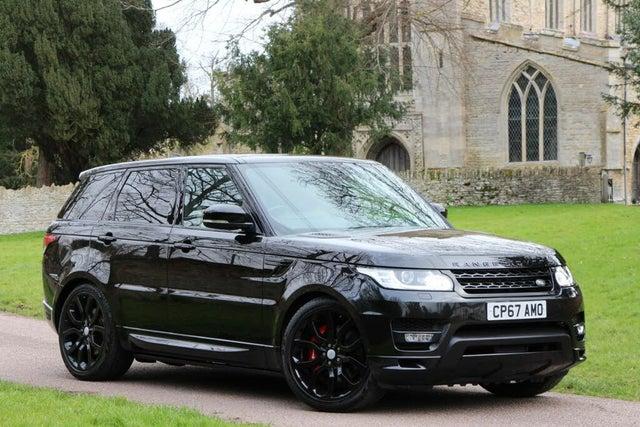 2018 Land Rover Range Rover Sport 3.0 SD V6 Autobiography Dynamic SD V6 4X4 (67 reg)