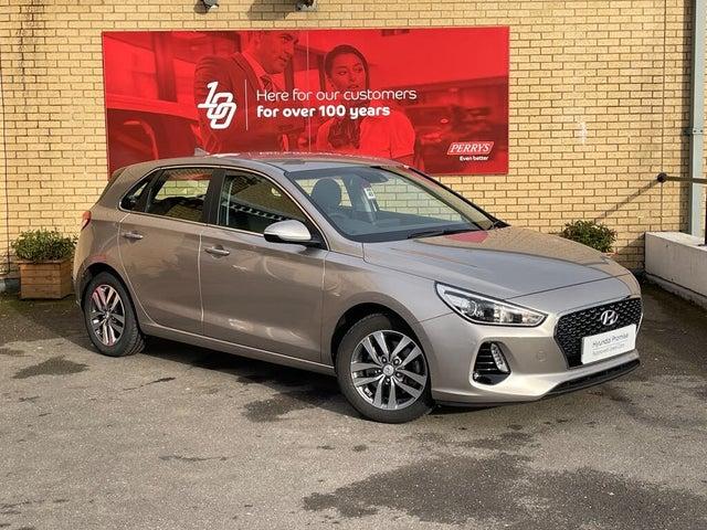 2018 Hyundai i30 1.4 T-GDi SE Nav Blue Drive (ISG) Hatchback DCT (18 reg)