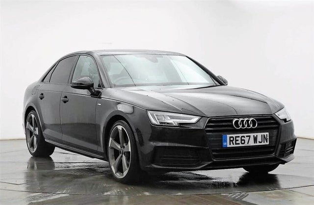 2017 Audi A4 1.4 TFSI Black Edition (67 reg)