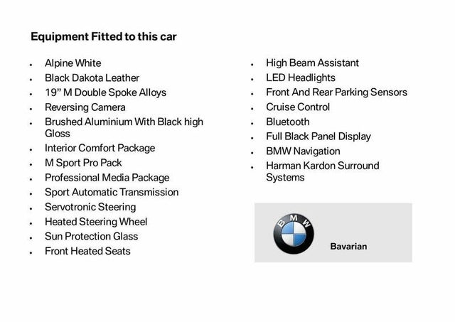 2017 BMW 3 Series 3.0 340i M Sport Touring 5d Auto (Z1 reg)