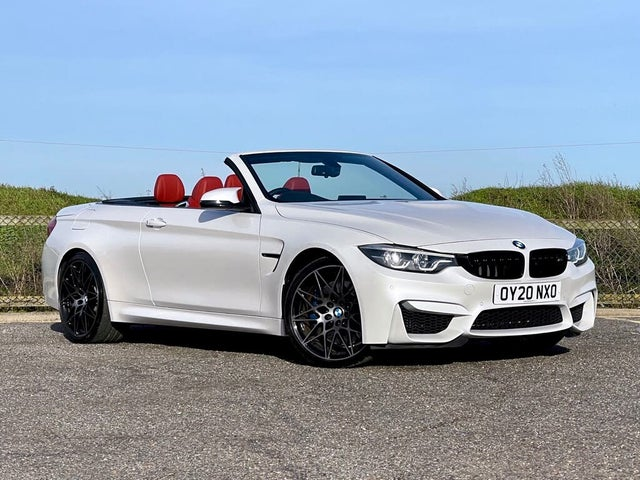 2020 BMW 4 Series 3.0 M4 Competition (444bhp) Convertible 2979cc DCT (20 reg)