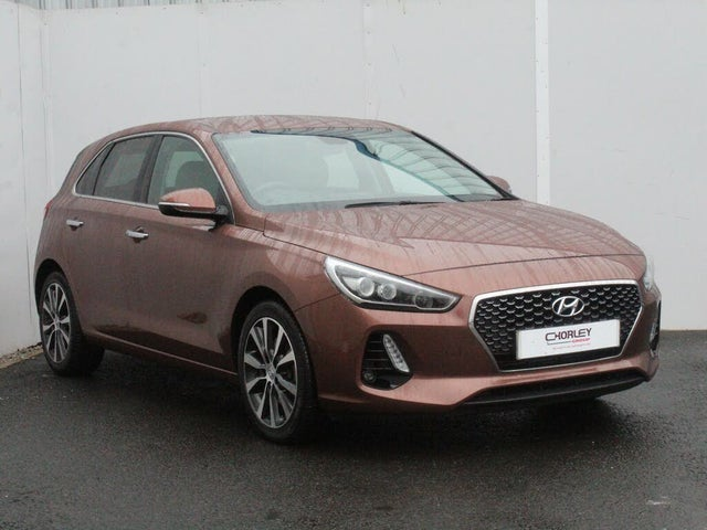 2018 Hyundai i30 1.6CRDi Premium (109ps) Blue Drive (ISG) Hatchback 1582cc (18 reg)