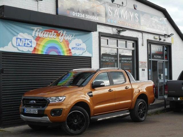 2020 Ford Ranger 3.2TD Wildtrak 3.2 Duratorq Pickup auto (20 reg)