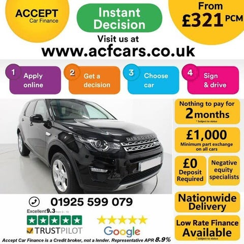 2017 Land Rover Discovery Sport 2.0eD4 HSE (67 reg)